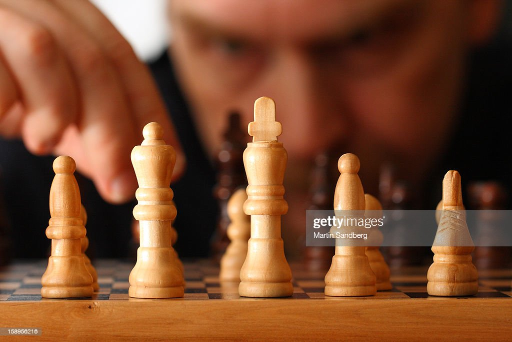 Game of chess : Stock Photo