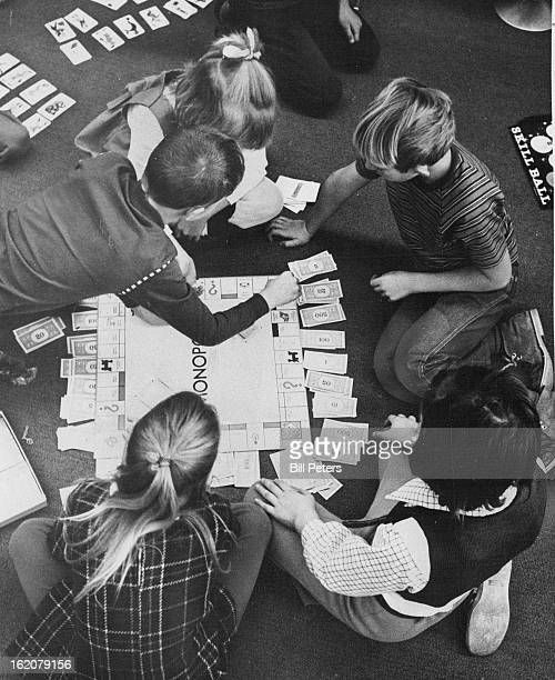 JAN 12 1973 JAN 13 1973 JAN 31 1973 Game of Monopoly Occupied Students' Time When they were forced in by cold A variety of projects and plays have...