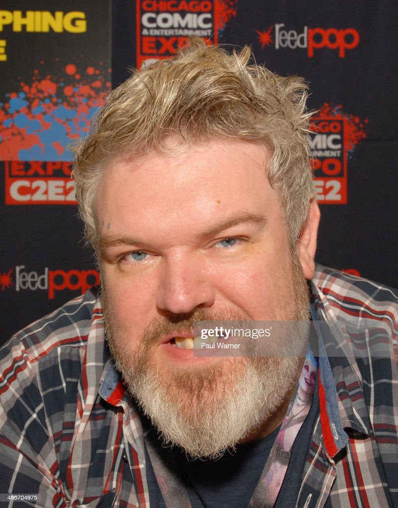 Game of Thrones actor Kristian Nairn attends the 2014 Chicago Comic and Entertainment Expo at McCormick Place on April 25, 2014 in Chicago, Illinois.