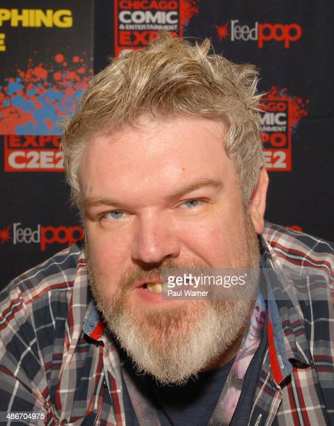 Game of Thrones actor Kristian Nairn attends the 2014 Chicago Comic and Entertainment Expo at McCormick Place on April 25 2014 in Chicago Illinois