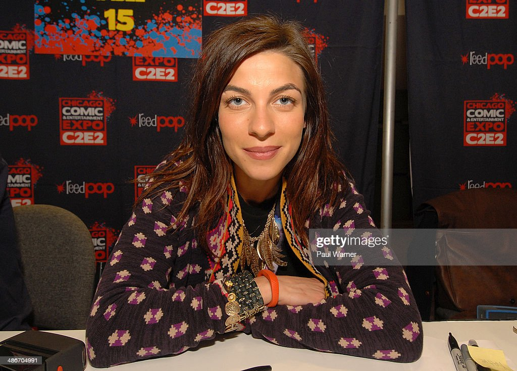Game of Thrones actor Natalia Tena attends the 2014 Chicago Comic and Entertainment Expo at McCormick Place on April 25, 2014 in Chicago, Illinois.