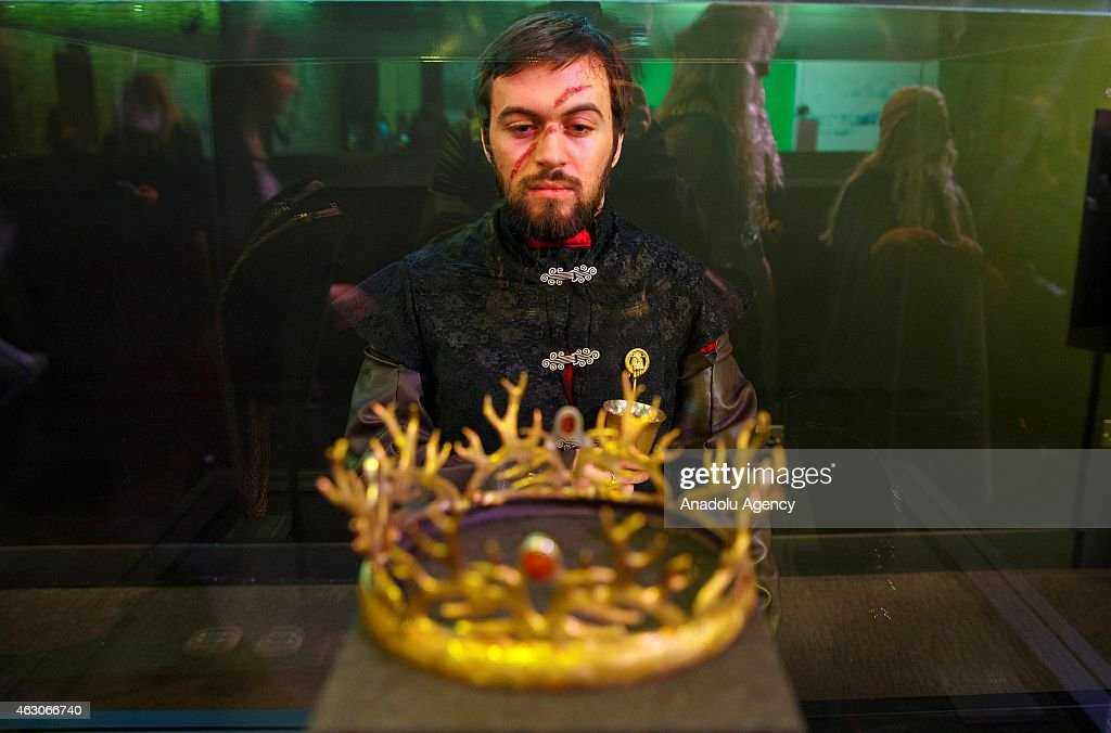 Game of Thrones exhibition in London : News Photo