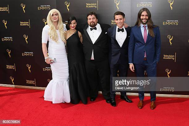 Game of Thrones Nominees attend the 2016 Creative Arts Emmy Awards Day 2 at the Microsoft Theater on September 11 2016 in Los Angeles California