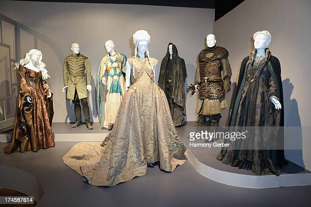 Game of Thrones' wardrobe displayed at The Academy Of Television Arts Sciences' Costume Design Supervision Peer Group 65th Primetime Emmy Awards...