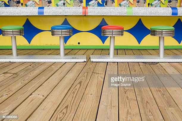 Game on boardwalk