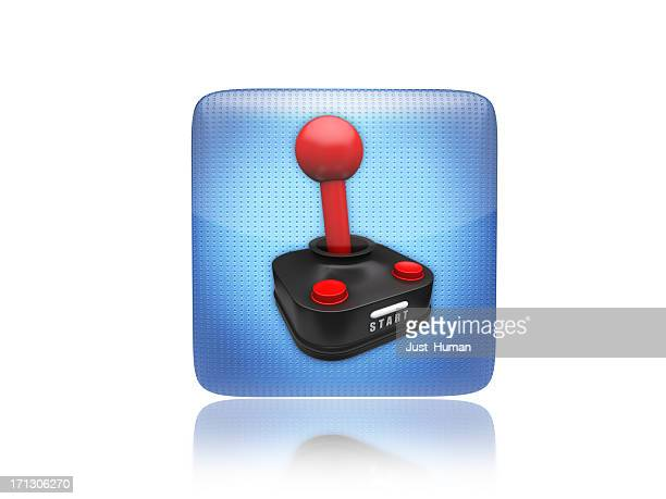 Game or gaming joystick icon