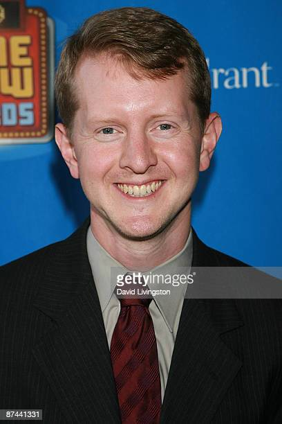TV game show champion Ken Jennings attends the 1st annual Game Show Network's Game Show Awards at the Wilshire Theatre on May 16 2009 in Beverly...