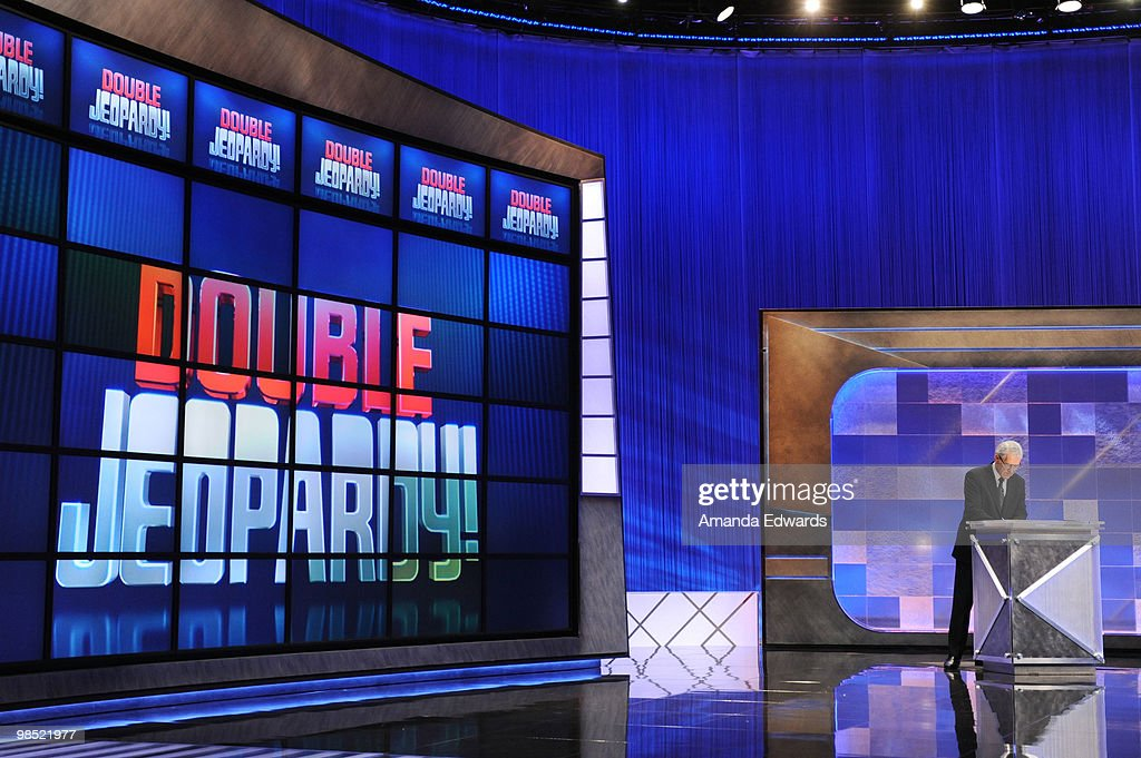 """Jeopardy!"" Million Dollar Celebrity Invitational  Tournament Show Taping : News Photo"