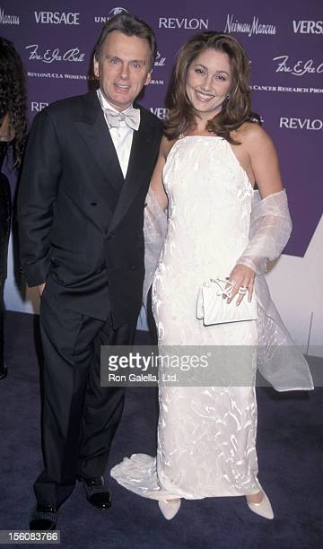 Game Show Host Pat Sajak and wife Lesly Brown attending Nineth Annuel Fire and Ice Ball Benefit on December 9 1998 at Universal Studios in Universal...