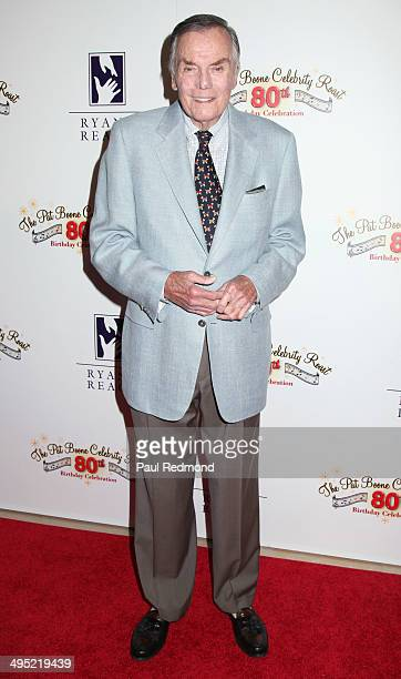 TV game show host Peter Marshall arriving at the Pat Boone 80th Birthday Celebrity Roast at The Beverly Hilton Hotel on June 1 2014 in Beverly Hills...