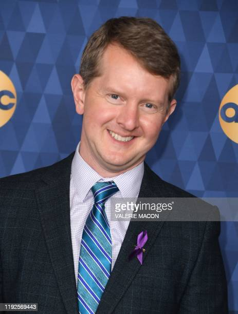Game show Jeopardy champion Ken Jennings attends ABC's Winter TCA 2020 Press Tour in Pasadena California on January 8 2020