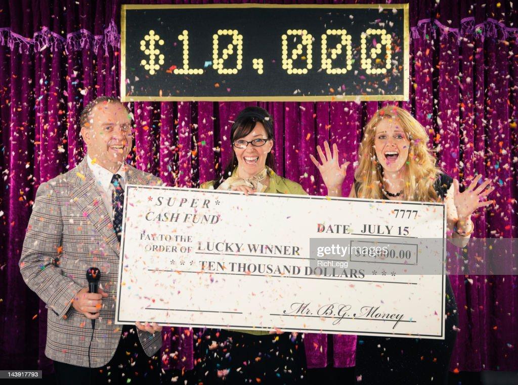 Game Show Winner : Stock Photo