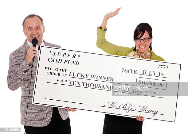 game show winner - big mike stock pictures, royalty-free photos & images