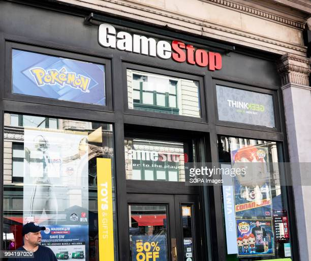 Game Stop store in New York City