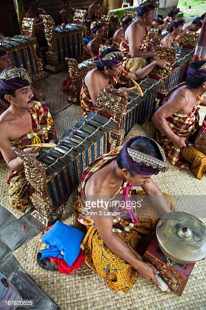 Gamelan is a musical ensemble from Indonesia typically from Bali featuring a variety of instruments metallophones xylophones drums and gongs bamboo...