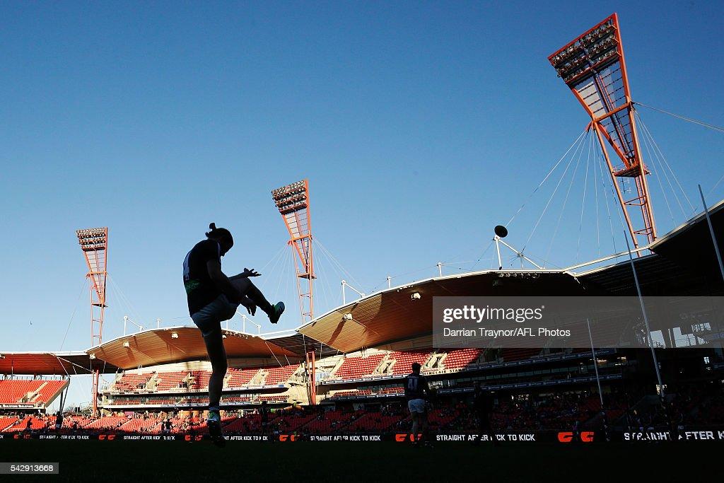AFL Rd 14 - GWS v Carlton
