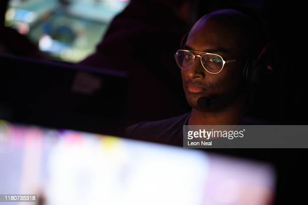 Gamer Zeo takes part in a match at the epicLAN esport tournament at the Kettering Conference Centre on October 12 2019 in Kettering England EpicLAN...