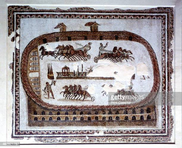 Games Roman mosaic from Carthage 2nd century AD Located in the collection at Bardo Museum Tunisia