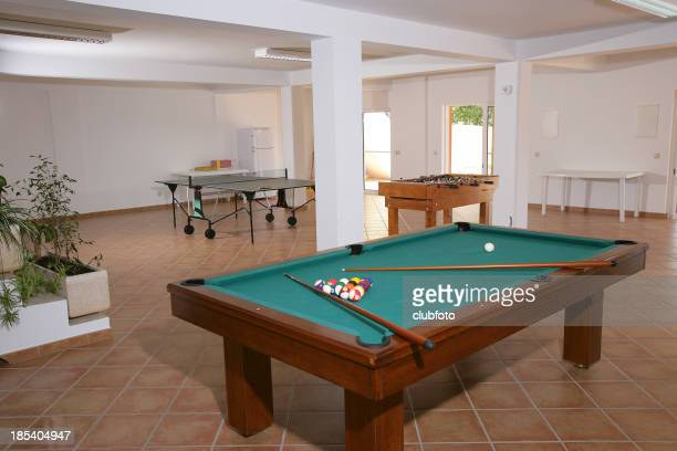 Games room in a residential home