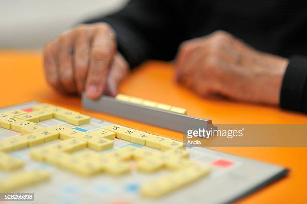 Games to fend off Alzheimer's disease by stimulating memory and concentration Here Scrabble game