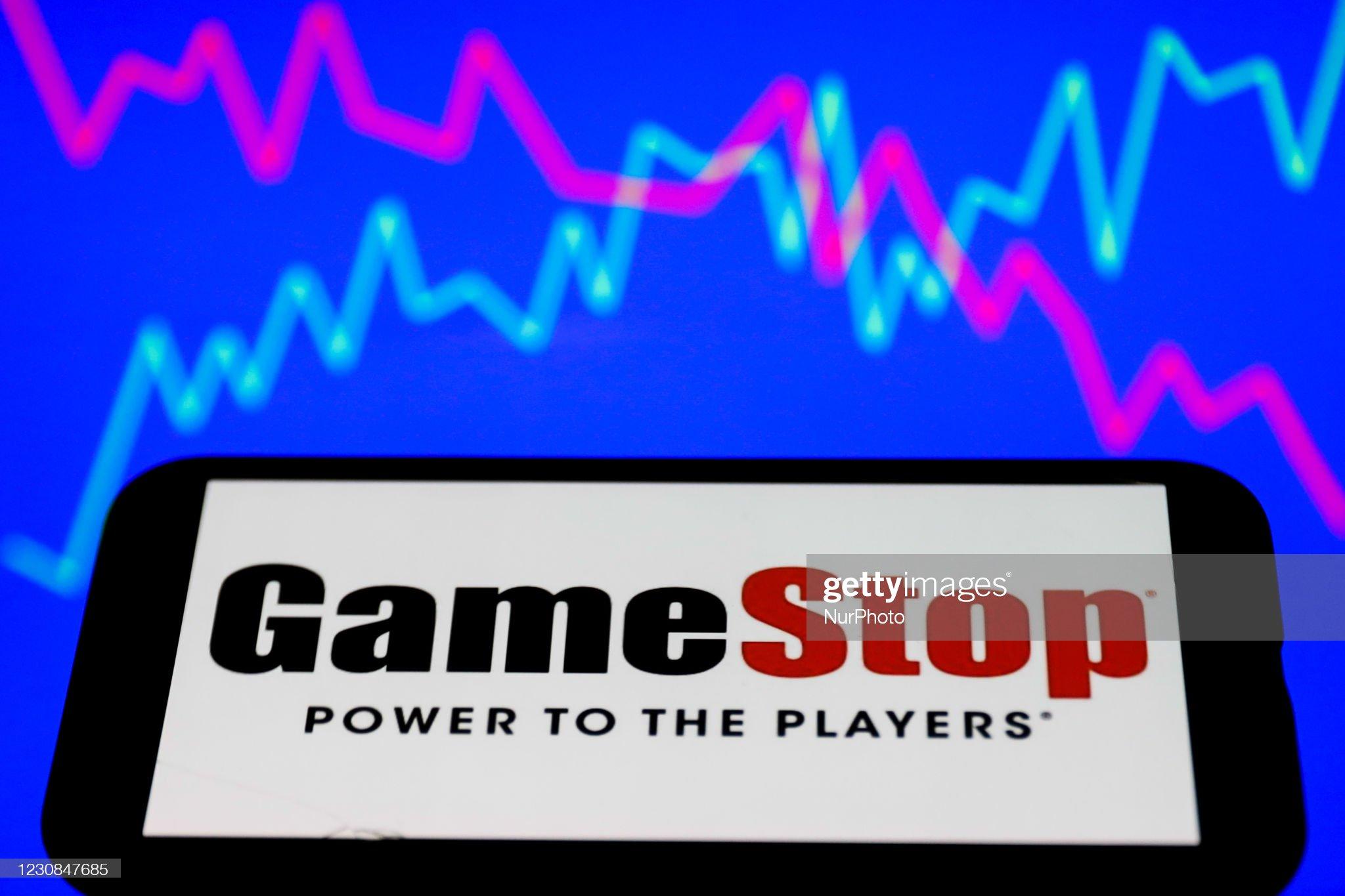 GameStop Photo Illustrations : News Photo