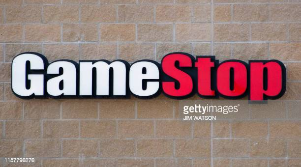 GameStop video game store in Middletown DE on July 26 2019