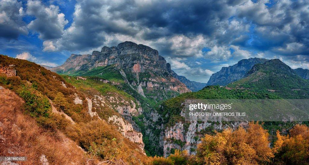 Gamila peak panorama : Stock Photo