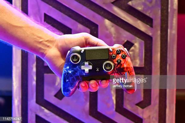 Gaming Controller is shown during the midseason tournament The Turn on May 10 2019 at the NBA 2K Studio in Long Island City New York NOTE TO USER...