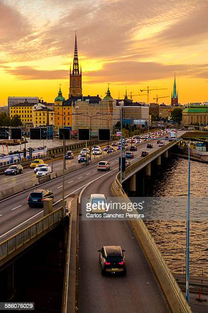 gamla stan district in stockholm - stockholm stock pictures, royalty-free photos & images