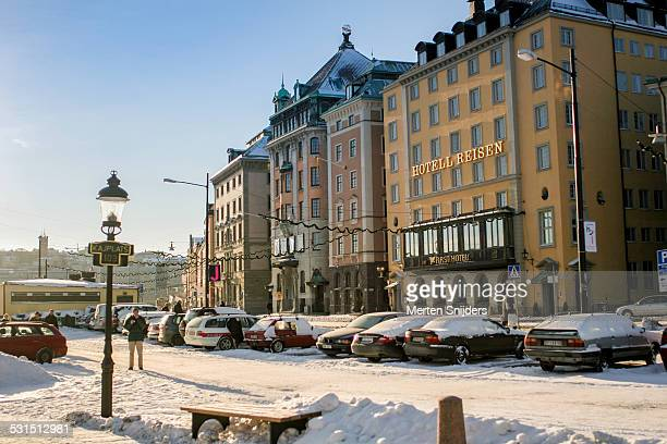gamla stan skeppsbron hotels - merten snijders stock pictures, royalty-free photos & images