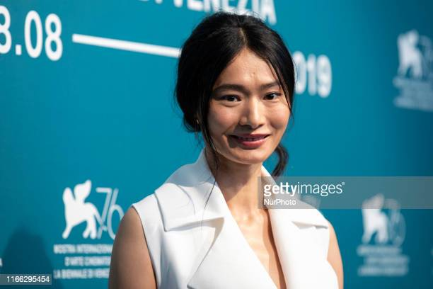 Gana Bayarsaikhan attends ''Waiting For The Barbarians'' photocall during the 76th Venice Film Festival on September 06, 2019 in Venice, Italy.