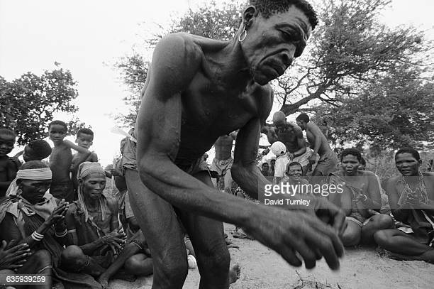Ganakwe Bushman Dancing into a Trance