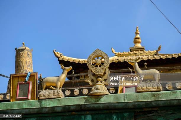 Gandantegchinlen Buddhist monestary at Ulaanbaatar Mongolia