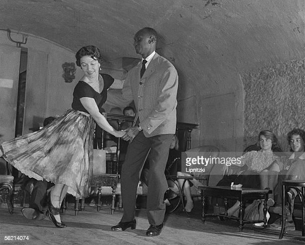 Gandhi and Renee Janvier Rock'n'Roll Paris 1956