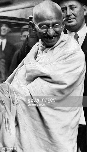 Gandhi Mahatma Politiker Indien Fuehrer der indischen Unabhaengigkeitsbewegung undatiert