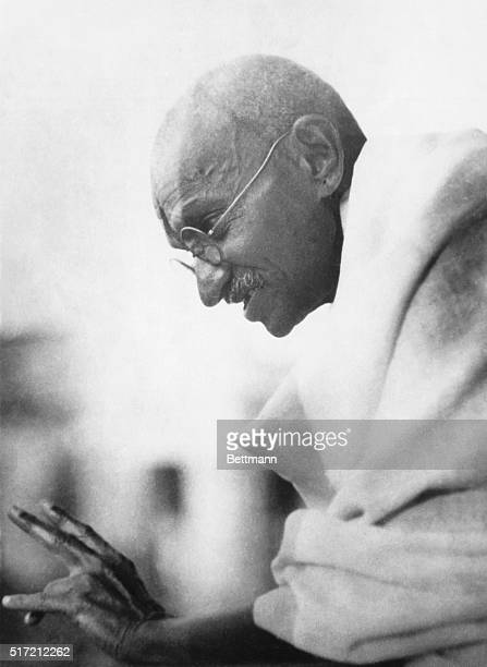 Gandhi Released from Prison Mahatma Gandhi the Indian Nationalist leader was released from the Yeroda Goal near Poona after being in prison for 8 1/2...
