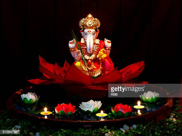 ganesh festival - ganesha stock photos and pictures