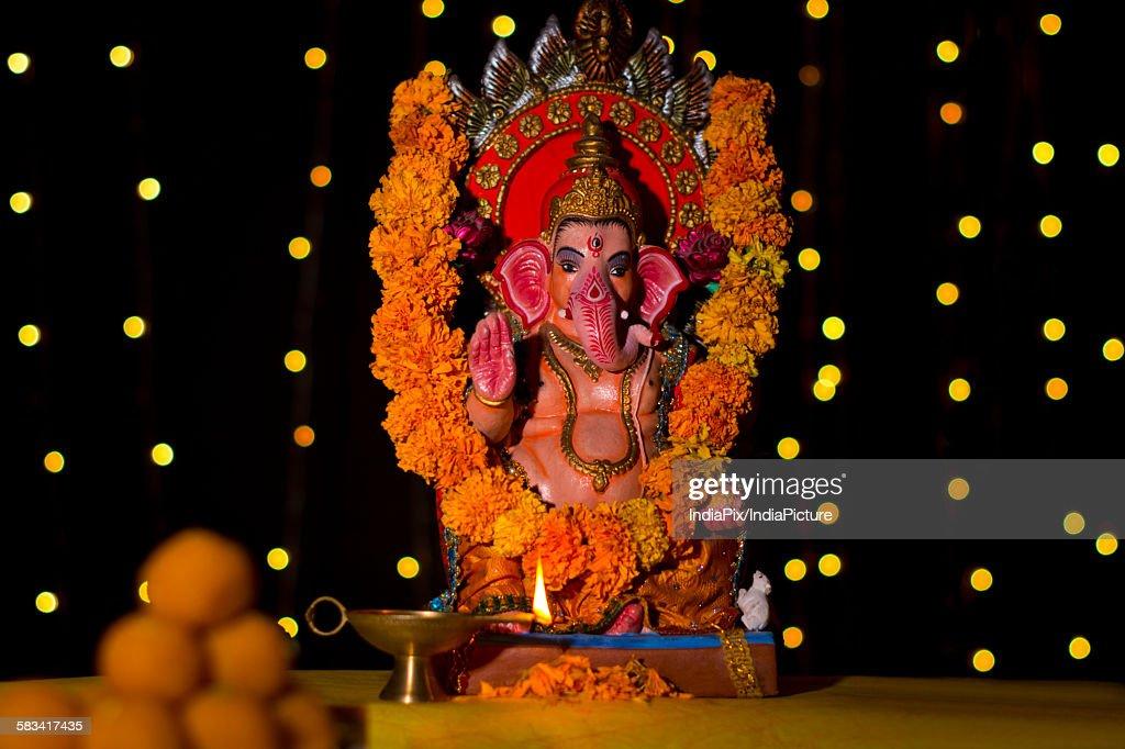 Ganesh idol : Stock Photo