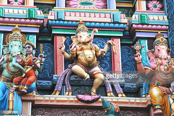 ganesh temple - bangalore stock pictures, royalty-free photos & images
