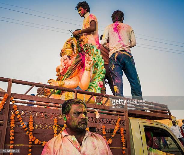 Ganesha Chaturthi in Jaisalmer Rajasthan India