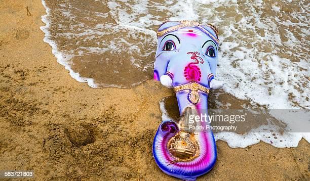 ganesha, - hindu god stock photos and pictures