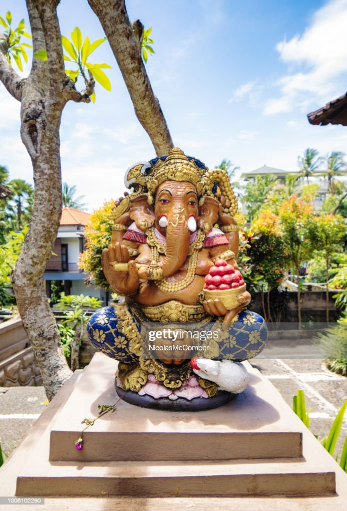 Ganesha Statue In Ubud Bali Indonesia High Res Stock Photo Getty Images