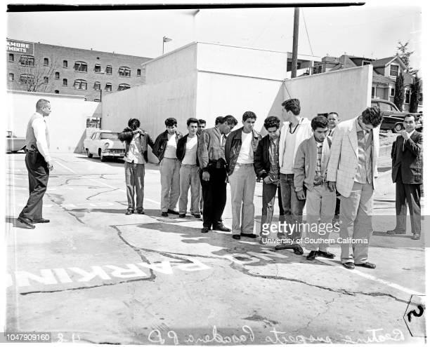 Gang beats Vivian Louis Valdez 8 April 1958 Peter J Hernandez 18 yearsDaniel G Rojas 21 yearsArthur Morales 22 yearsRalph J Escercega Junior 20...