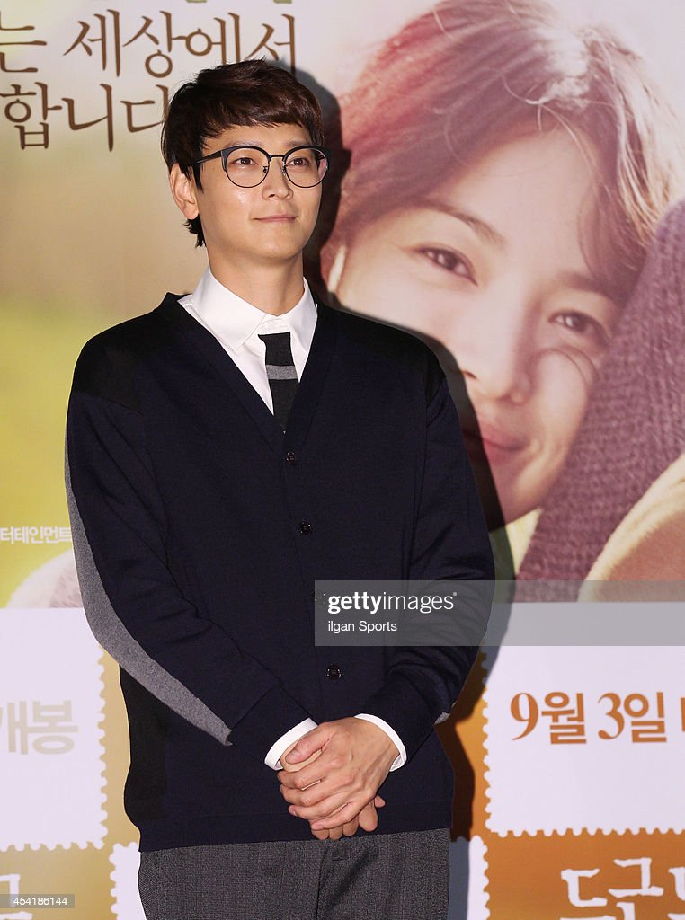 Gang Dong-Won attends the movie 'My Brilliant Life' press premiere at Wangsimni CGV on August 21, 2014 in Seoul, South Korea.