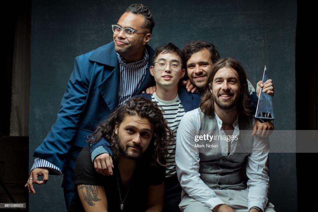 31st Annual ARIA Awards 2017 - Winner & Presenters Portraits : News Photo