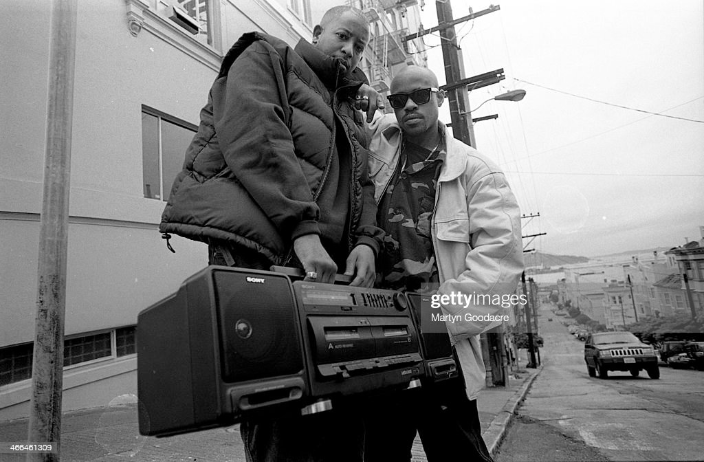 Gang Starr Guru DJ Premier San Fransisco 1991 : News Photo