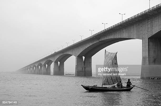 ganga river in patna - patna stock pictures, royalty-free photos & images