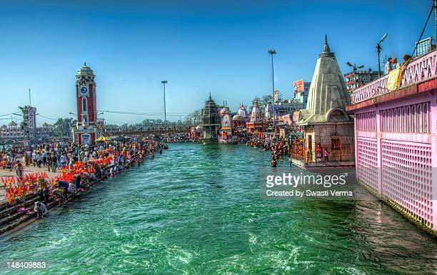 ganges - haridwar stock pictures, royalty-free photos & images