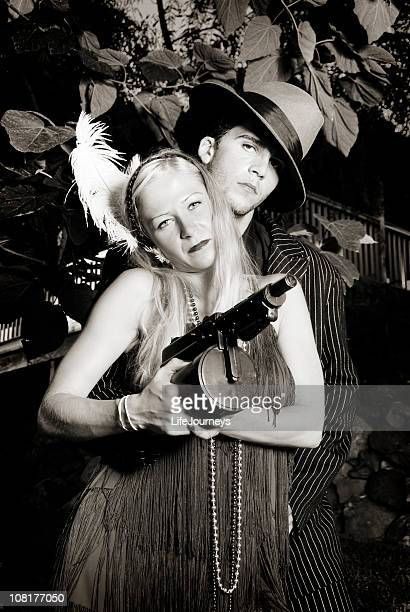 Gangster And His Gun Moll