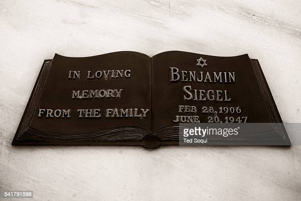 Gangster Benjamin Bugsy Siegel 19061947 is buried at the Hollywood Forever Cemetery Bugsy created and founded the famed Flamingo Hotel in Las Vegas...